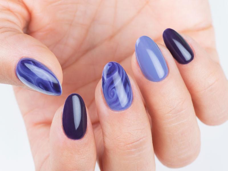Nuove tendende Nail art - Kateryna Bandrovska: Kombi Art Vertigini