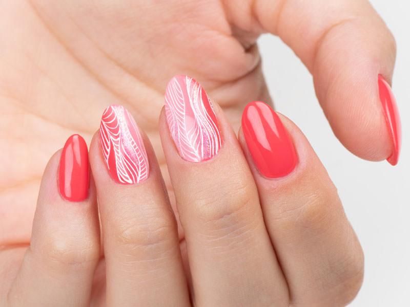 Idee Nail Art - Gioia Del Zotto: Easy Paint ondulato