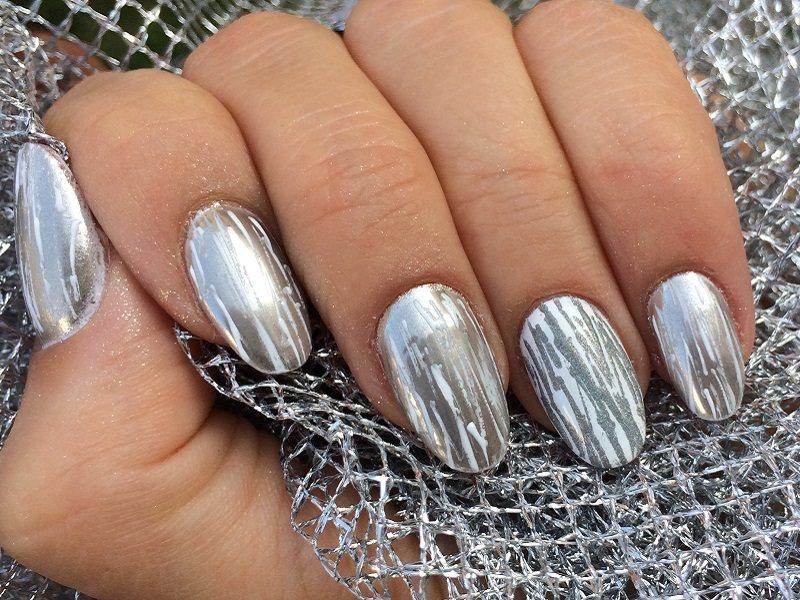 Corso decorazione unghie - Barbara Donini: Chrome Art Silver