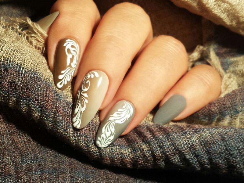 Corso decorazione unghie - Laura Ascione: Shade decorata