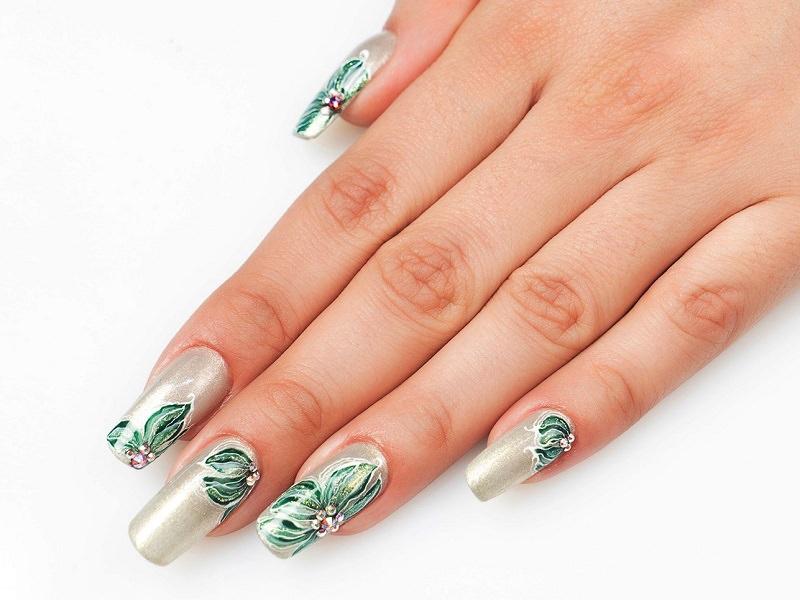 Nuove tendenze nail art - Sheila Oddino: Illusion pearl