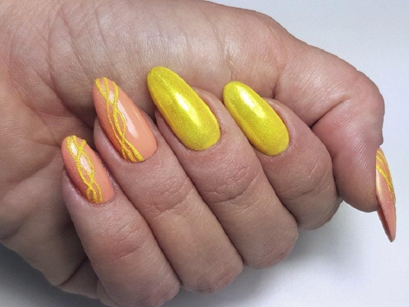 Nuove tendende Nail art - Simona Carotenuto: Kombi