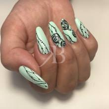 Idee Nail Art - Karina Pjaka: Easy Paint
