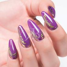 Proposte Nail Art - Ljuba Bedeschi: Chrome Art