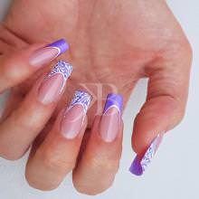 Idee Nail Art - Sara Colleoni: French