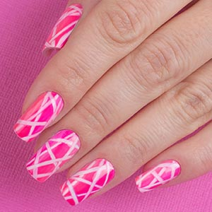 Corso decorazione unghie, nail art Griffe linee by Kateryna Bandrovska