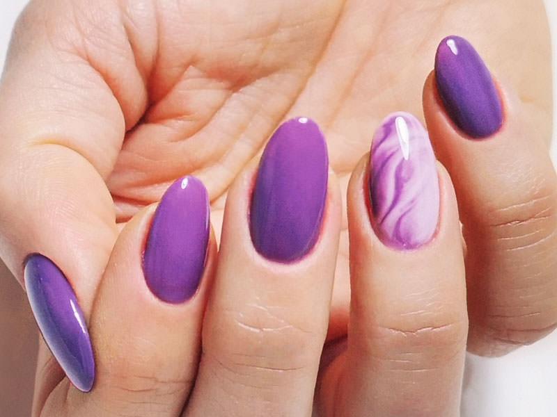 Idee Nail Art - Dina Lisanti: Kombi sfumato