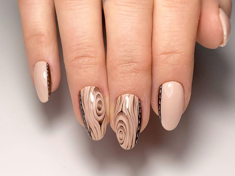 Idee decorazione unghie - Alek: Kombi Texture