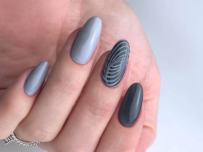 Idee Nail Art - Kateryna Bandrovska: Paradox tondeggiante