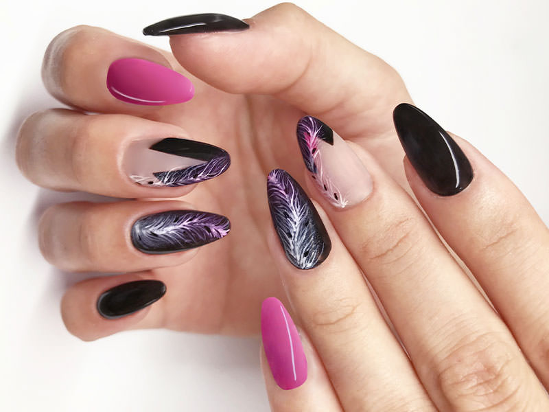 Nuove tendenze Nail art - Barbara Donini: French