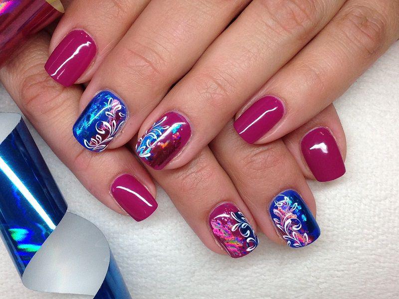 Nuove tendenze nail art - Barbara Donini: riccioli brillanti