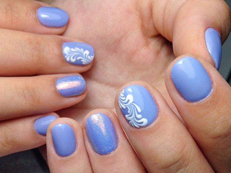 Idee nail art  - Caterina Del Signore: Kombi effetto brina