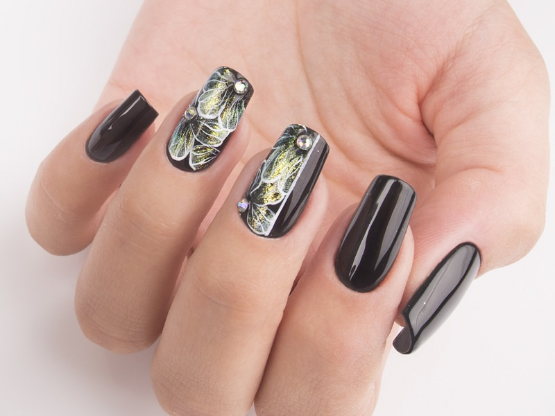 Idee nail art  - Giulia Paladino: Illusion Floreale