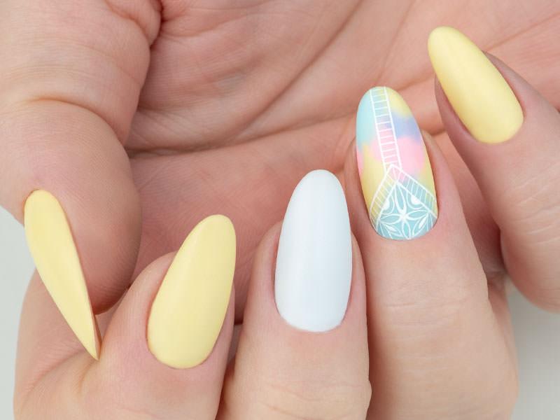 Idee Nail Art - Gioia Del Zotto: Kombi effetto opaco