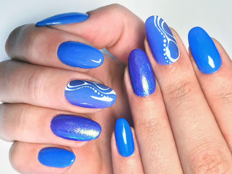 Idee Nail Art - Barbara Donini: Kombi Destino, Agata & Ultraviolet