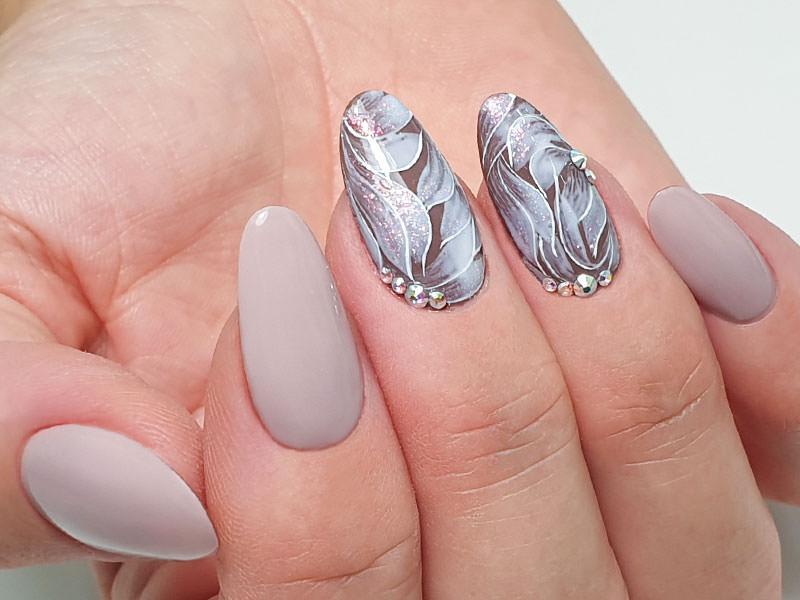 Idee Nail Art - Gioia Del Zotto: Eden damascato