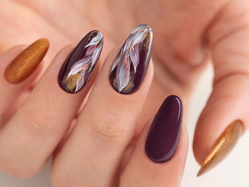 Nuove tendenze Nail art - Caterina Del Signore: Eden glitterato