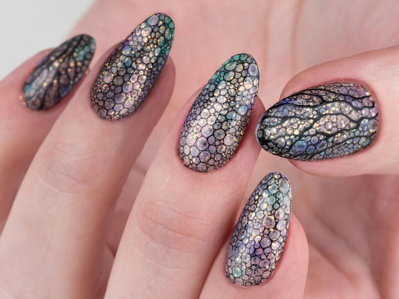 Idee decorazione unghie - Kateryna Bandrovska: La magia delle Bubbles