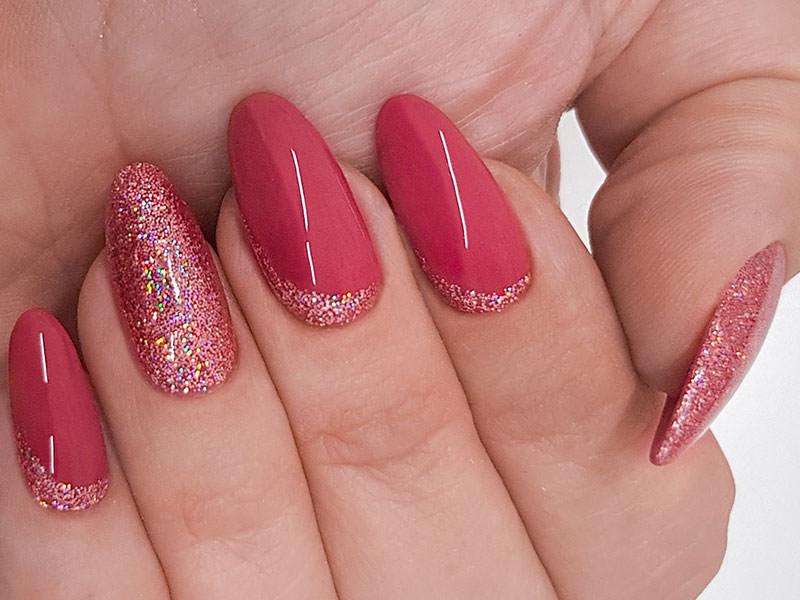 Idee Nail Art - Simona Carotenuto: Fusion glitterato