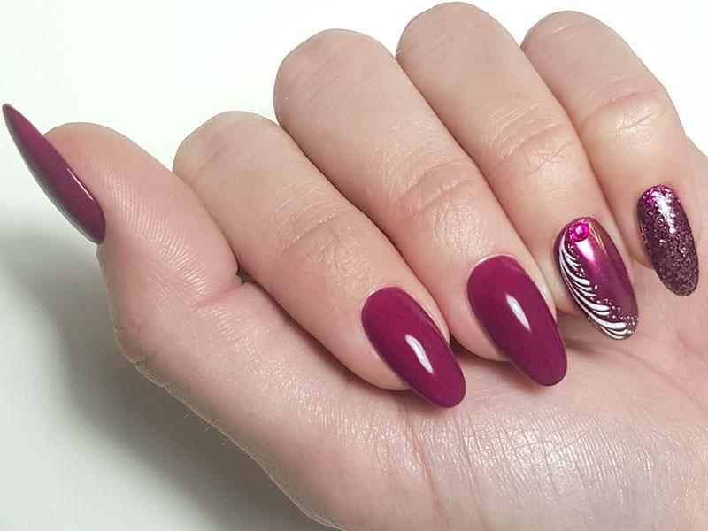 Idee Nail Art - Gabriella Coco: Fusion decorato