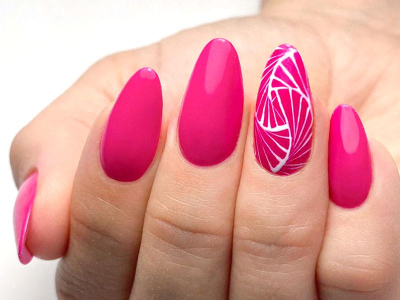 Nail art mania - Antonia Minervini: Fucsia decorato