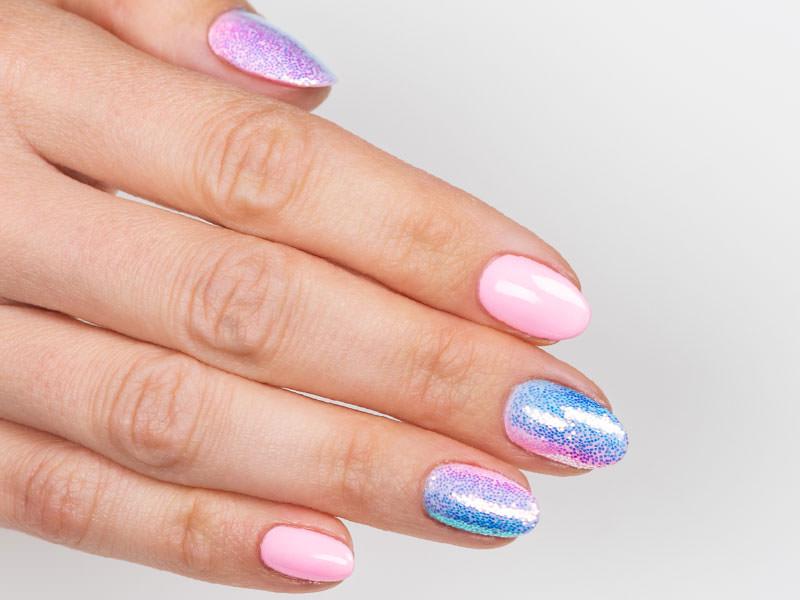 Idee Nail Art - Gioia Del Zotto: Kombi Barbie & Capriccio