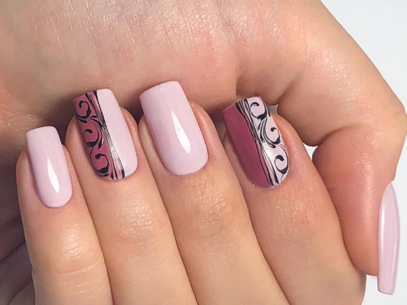 Idee Nail Art - Giulia Paladino: Kombi squadrato