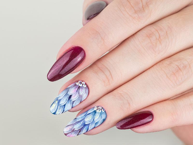 Nuove tendenze Nail art - Kateryna Bandrovska: Eden