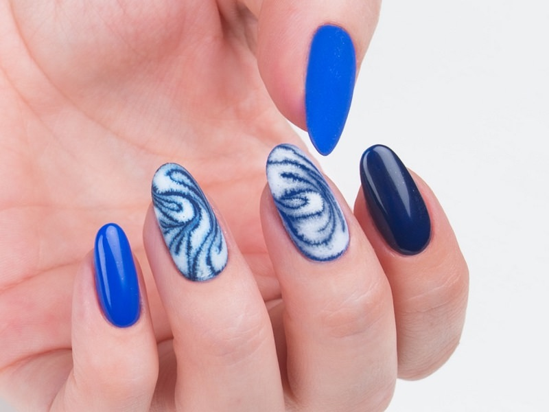 Corso decorazione unghie - Kateryna Bandrovska: Kombi Nail Art