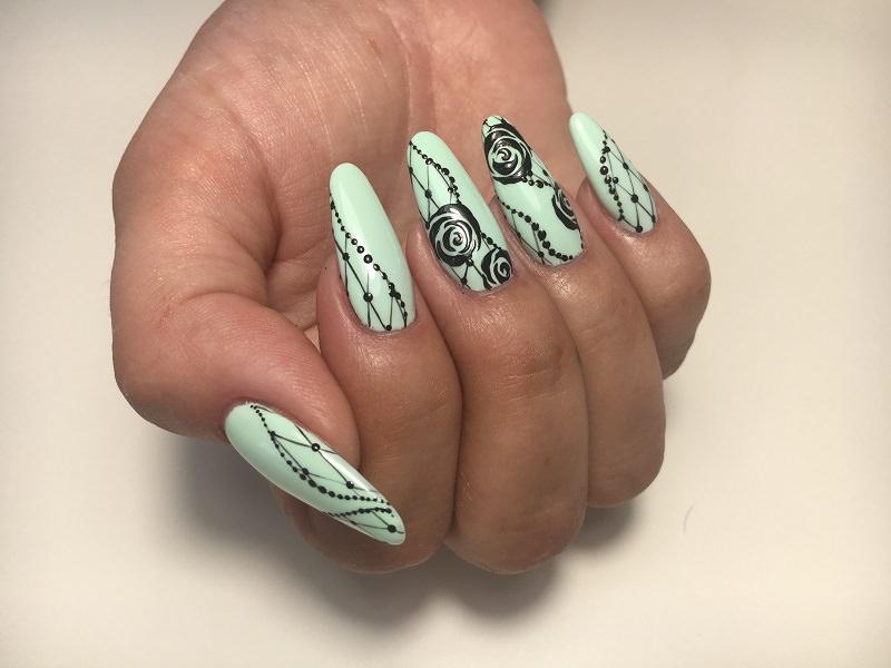 Idee Nail Art - Karina Pjaka: Easy Paint