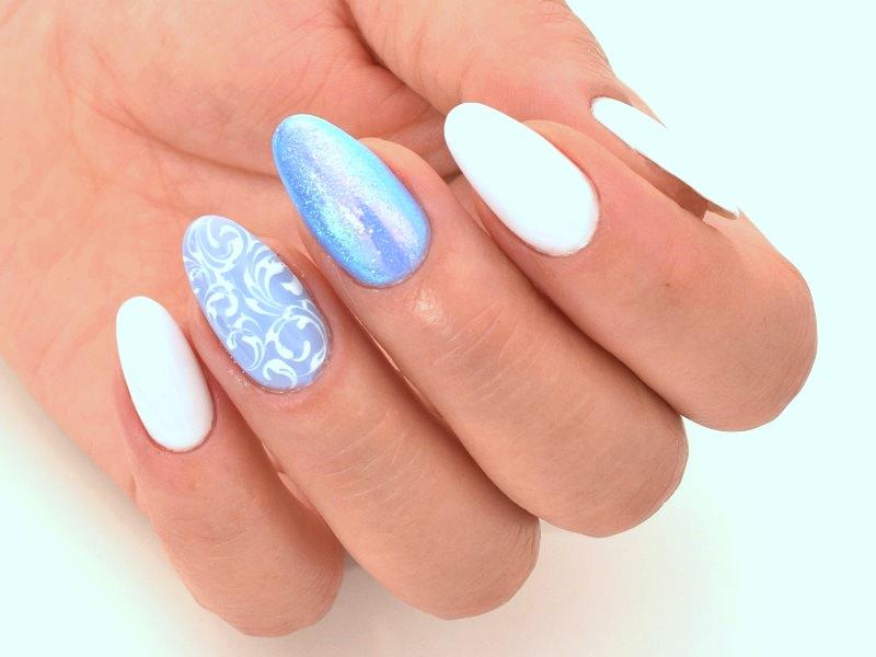 Idee nail art - Marzia Appetecchia: Riccioli eleganti