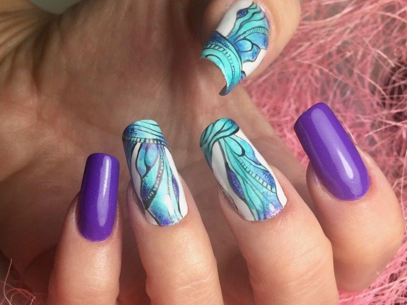 Idee Nail Art - Pamela De Montis: Incanto