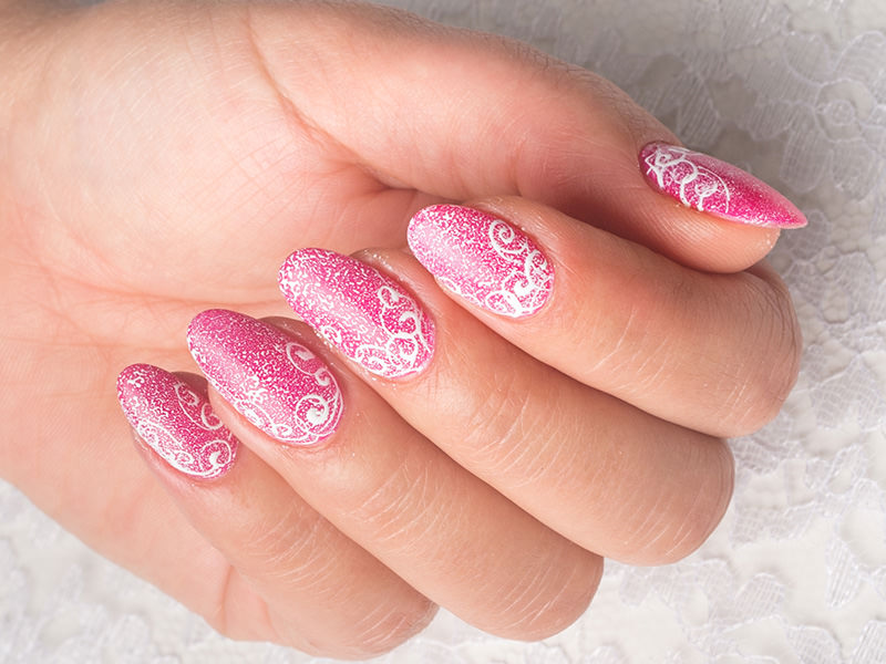 Corso decorazione unghie - Sheila Oddino: effetto Crash