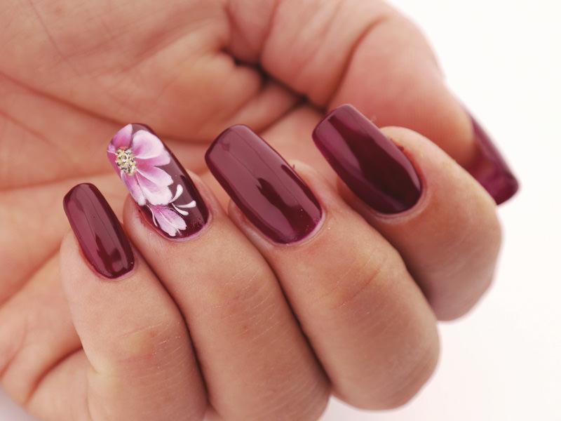 Corso decorazione unghie - Tiziana Preta: primula cinese