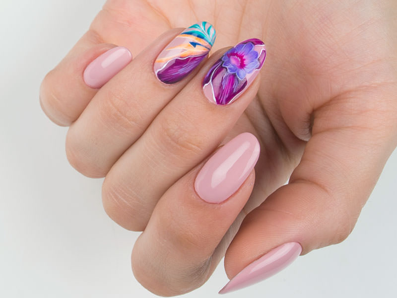 Proposte Nail Art - Caterina Del Signore: Flower