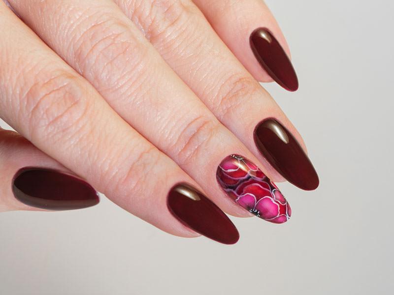 Nuove tendenze Nail art - Kateryna Bandrovska: Kombi Posh