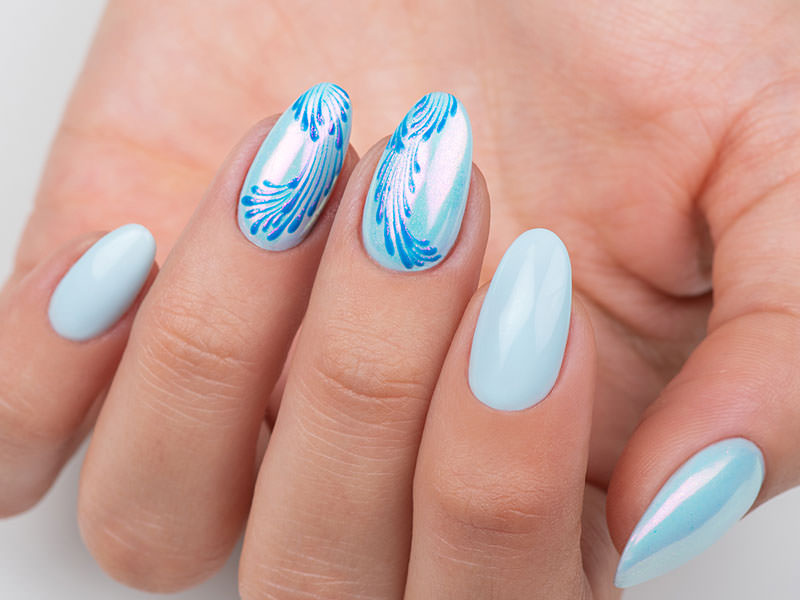 Nuove tendenze Nail art - Caterina Del Signore: Easy Gel con Kombi Brezza