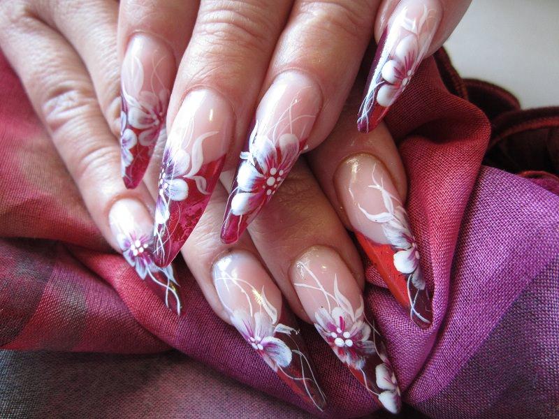 pm fiori bianchi french rossa