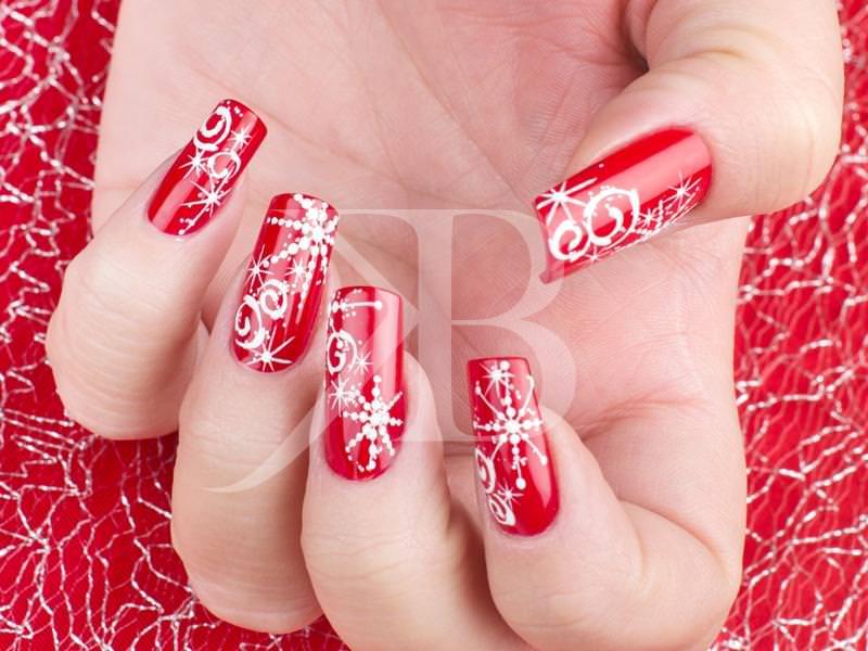 Corso decorazione unghie christmas nail stylist for Decorazioni natalizie unghie