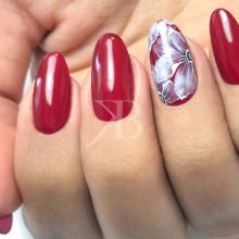 Nuove tendenze Nail art - Sara Scarselli: Eden in red