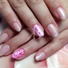 Idee nail art  - Caterina Del Signore: Flower Gel