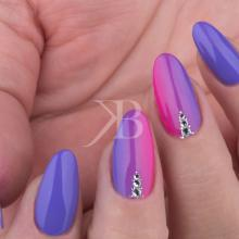 Idee Nail Art - Gioia Del Zotto: Kombi Shade decorato