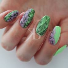 Idee nail art - Sara Scarselli: Flower mix